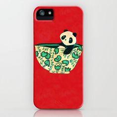 Dinnerware sets - panda in a bowl iPhone & iPod Case