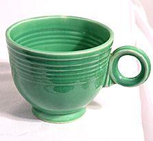Fiestaware tea cup 1930s-40s