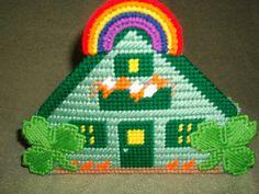 Ready to ship Saint Patricks Day Napkin Holder by cecrafts on Etsy, $6.50