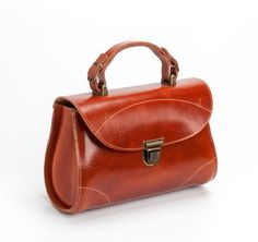 Brown Leather Handbag / Tote Bag / Women Purse / Cross Body Bag / Shoulder Bag / Every Day Bag / Messenger Bag / Shoulder Bag - Soho