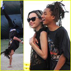 #Jaden Smith Does Cartwheel at Coachella 2016 with Sarah Snyder --- More News at : http://RepinCeleb.com  #celebnews #repinceleb #CelebNews