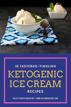 Ketogenic Ice Cream Recipes #keto - http://ketosummit.com/ketogenic-ice-cream-recipes/