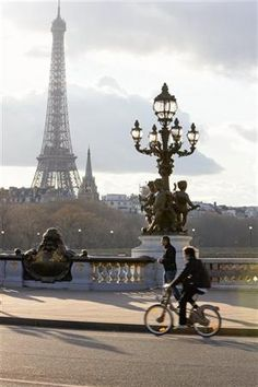 Onda verde, Paris en bicicleta