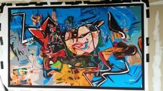 """Saatchi Art Artist dOminic brown; Painting, """"A new discovery from my subconciouss"""" #art"""