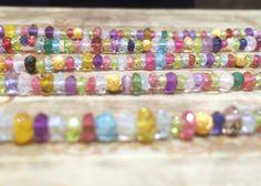 カラフルなフッサフッサ!宝石で作ったキャンディーカラーのブレスレット | Sirena Azzurro 神戸店