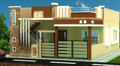 Please sand plan Single Floor House Design, Modern Small House Design, House Gate Design, Village House Design, Bungalow House Design, House Front Design, Modern House Plans, 2bhk House Plan, Indian House Plans