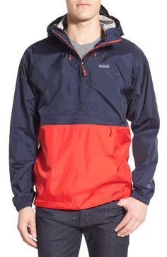 Patagonia 'Torrentshell' Packable Regular Fit Rain Jacket available at #Nordstrom