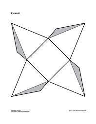 3D Paper Shape Templates | Pin By Natalia On Pomysly Do Domu Pinterest Math Projects Craft