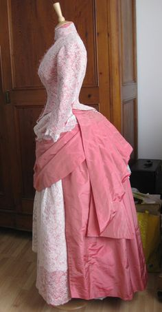 The dress Marnie wore to the wedding. 1800s Fashion, 19th Century Fashion, Victorian Fashion, Vintage Fashion, Victorian Gothic, Gothic Lolita, Gothic Fashion, Victorian Era Dresses, Victorian Costume