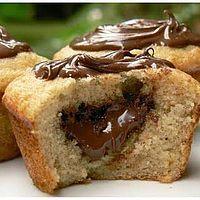 Les muffins au Nutella