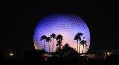 Disney Parks After Dark: Spaceship Earth Brightens Epcot tami@goseemickey.com
