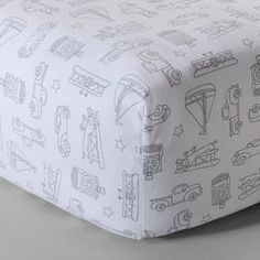 Circo™ Woven Fitted Crib Sheet - Vintage on the Go