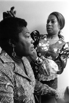 Vintage Hairstyles Retro Photographic Print: Esther Rolle, 1974 by Ted Williams : - size: Photographic Print: Esther Rolle, 1974 by Ted Williams :