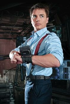 Captain Jack Harkness. Well, hello....