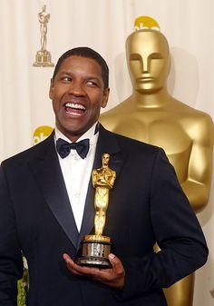 Denzel Washington at the Oscars Black Actors, Black Celebrities, Celebs, Actor Denzel Washington, Best Supporting Actor, Academy Awards, Oscar Academy, American Actors, British Actors