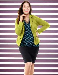 New Plus Size Dresses, Coats, Sweaters, Pants | Lane Bryant-LOVE THE JACKET