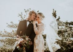 Adventure-seekers will love this mountain wedding | Image by Nicole Veldman Photography + Video