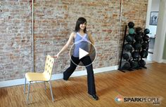 15-Minute Desk Workout Video