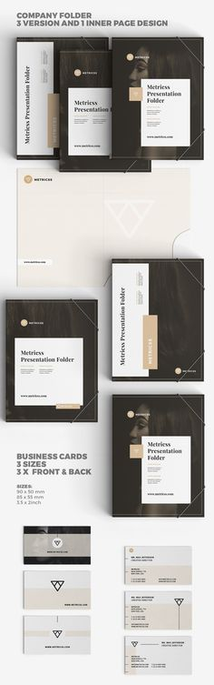 Corporate Stationery on Behance