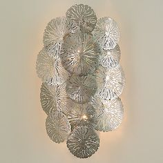 Sphere Stem 6 Light Chandelier Westelm 3D Model for VRay