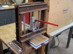 Kydex Forming Press