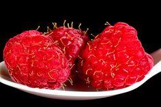 Raspberries on a White Spoon  A Fine Art by RandyNyhofPhotos
