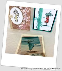 Stampin Up, Image, Watercolor Painting, Projects, Stamping Up