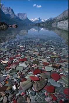 St. Mary Lake, Glacier National Park, Montana, by Art Wolfe