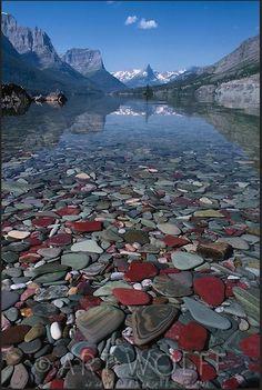 St. Mary Lake, Glacier National Park, Montana, by Art Wolfe