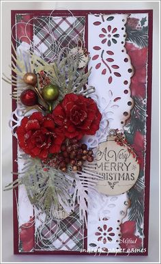 Margyz Paper Games: Crafty Cardmakers Challenge #202 - Christmas