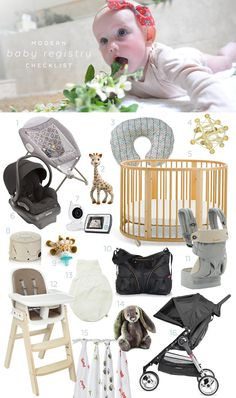 Jun  My Printable Baby Registry Checklist And A  Visa Card