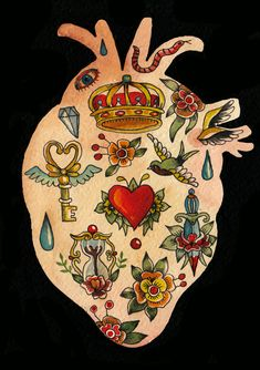 Things that fit inside a heart - aitch