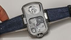Angelus-U10-Tourbillon-Lumiere-aBlogtoWatch-8 caseback and strap