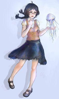 Princess Jellyfish by Zapekanka on DeviantArt