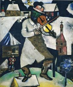 Marc Chagall, The Fiddler, 1912-13
