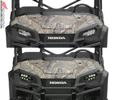 2016 Honda Pioneer 1000 LED Headlights. Check out the link for more info on Honda's All New 1000 side by side ATV / UTV / SxS.