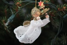 Angel 365 Photo, Visual Diary, First Photograph, Project 365, Angel, Christmas Ornaments, Holiday Decor, Projects, Photography
