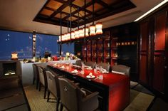 Ritz-Carlton HK unveils world's highest Chef's Table