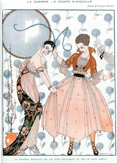 La Vie Parisienne, 1915 ~ George Barbier