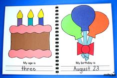 My All About Me Book - Crafty Bee Creations
