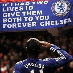 I love Didier Drogba Chelsea Blue, Chelsea Fans, Chelsea Soccer, Chelsea Champions, Doncaster Rovers, Cristano Ronaldo, Hazard Chelsea, Newcastle United Fc, English Premier League