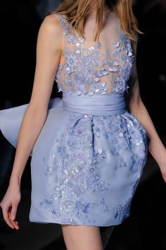 Details from Zuhair Murad Haute Couture Spring 2016.