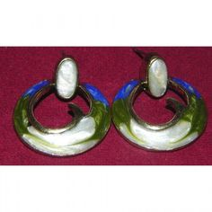 3 color combination Lusture hoop earrings - Online Shopping for Earrings by Craft Stages