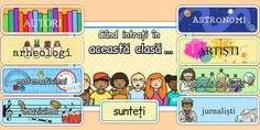 Cand Intri In Aceasta Clasa - postere, décor usa clasei Classroom Displays, Classroom Management, Packing, Reading, Artist, Poster, Usa, Bag Packaging, Artists