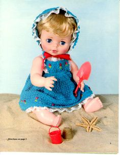 Hey, I found this really awesome Etsy listing at https://www.etsy.com/listing/241603063/doll-clothes-crochet-pattern-book