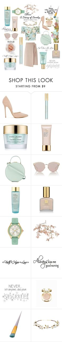 """""""Diary of a lovely"""" by fini-i ❤ liked on Polyvore featuring Steve Madden, Marc Jacobs, Estée Lauder, Tammy & Benjamin, Christian Dior, WALL, Michele, Canopy Designs, Wall Pops! and Milani"""