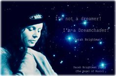 I am not a dreamer, I am a dreamchaser. <3