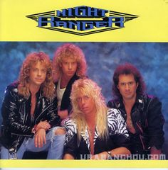 Night Ranger in the 80s... I love long hair on men. I saw them in 2011 and they're still good looking.