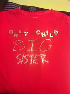 DIY Big Sister Shirt
