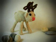 amigurumi crochet stuffed animal cute reindeer by WiseFriday